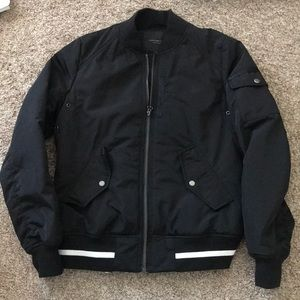Marc New York Black Bomber Jacket